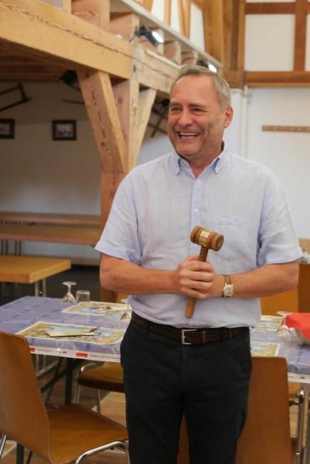 Mario Jenni, Präsident Rotary Club Zürich-Limmattal 2018/2019