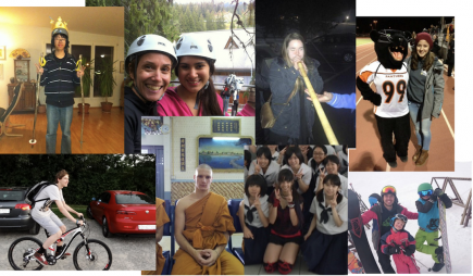 Impressionen AustauschstudentenInnen Rotary Zürich - Limmattal